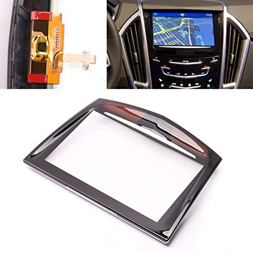 PeakCar Touch Screen Display Repair Replacement Part fits Compatible with 2013 2014 2015 2016 2017 Cadillac ATS CTS SRX XTS CUE