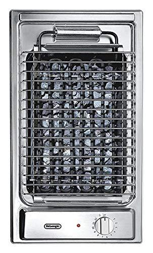 Piano cottura Domino Barbecue in acciaio inox da 30 cm De