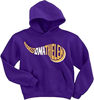 Purple Minnesota Thielen Hooked on Hooded Sweatshirt