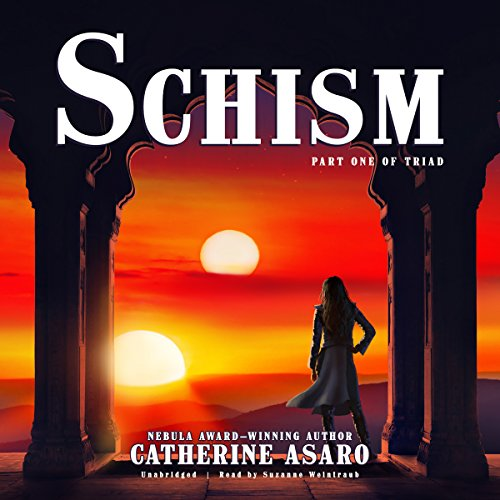 Schism audiobook cover art