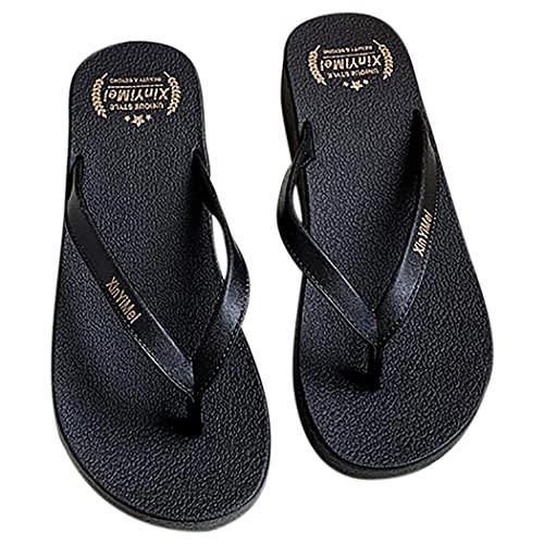 Fascigirl Chanclas Gruesas Antideslizantes Especiales Para Sandalias De Ducha Zapatillas Confort Tangas Sandalias De Playa Zapatillas De Verano Para Mujer Dama