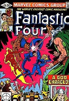 Comic Marvel Fantastic Four: The Blind God's Tears -- No. 225, December 1980 Book