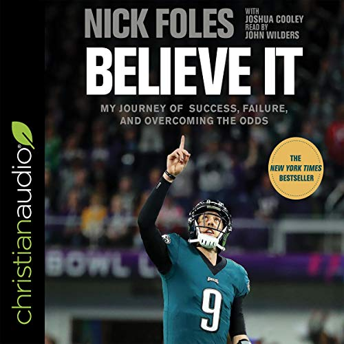 Believe It audiobook cover art