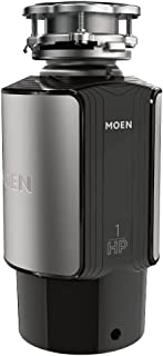 Moen GX100C GX Series 1 HP Continuouse Feed Garbage Disposal, Power Cord Included