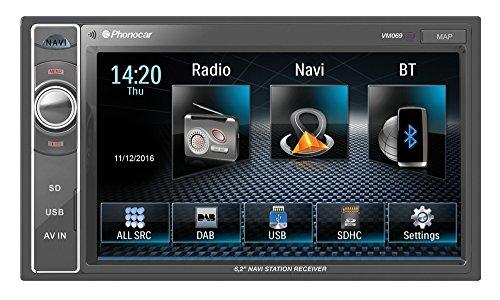 Phonocar VM069 2 DIN 6,2 pollici radio-navigatore-usb-bluetooth