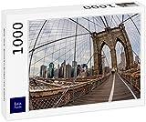 Lais Puzzle Nueva York, Puente de Brooklyn con Cables 1000 Piezas