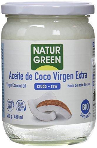 NaturGreen Aceite de coco Virgen Bio, Primera presión en frío - 400 gr.