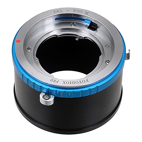 Fotodiox Pro Lens Mount Adapter Compatible with Deckel Bayonet (DKL) Lenses on Canon EOS M EF-M Mount Mirrorless Cameras