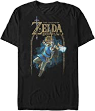 Fifth Sun Nintendo Men's Legend of Zelda Breath of The Wild Arch T-Shirt
