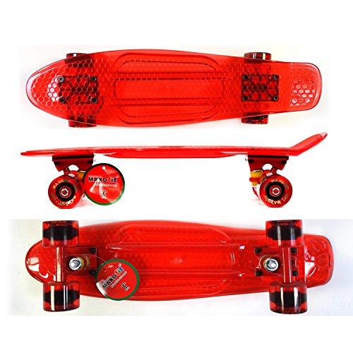 MAXOfit Skateboard Mini Cruiser Retro, 63787