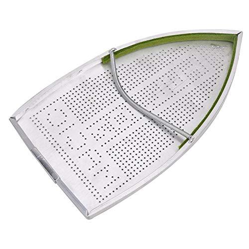 Oumefar 1 Uds Cubierta de Zapatos de Hierro eléctrico de Aluminio para...