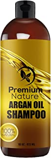 Argan Oil Daily Shampoo 16 oz All Organic Rejuvenates Heat Damaged Hair Nourishes & Prevents Breakage Sulfate Free Vi...