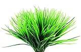 Faux Kunststoff Weizen Gras (8Bunches); Künstliche Weizengras Stiele Fake Dekorieren Sträucher für Innenbereich/Außenbereich Nachahmung Pflanzen