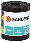Gardena Bordure de plateband 20cm haut/9m Long, Marron, 30 x 30 x 30 cm