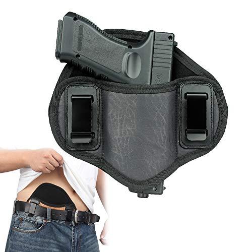 Universal Pistolenhalfter, Tragbarer Pistolenholster, für IWB OWB Rechte Linke Hand nach innen verborgen Trägt alle ähnlichen Handfeuerwaffen.