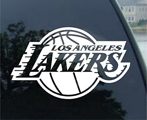 valstick Los Angels Lakers NBA Basketball Logo Car Bumper Sticker Decal