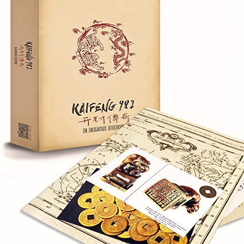 Detective Stories History Edition: Kaifeng 982. Tatort Detektivspiel, Krimispiel, Escape Room Spiel für zu Hause