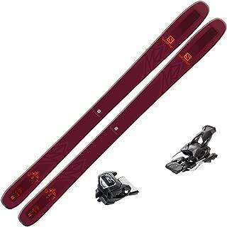 2019 Salomon QST 106 Skis w/Tyrolia Attack2 13 Bindings
