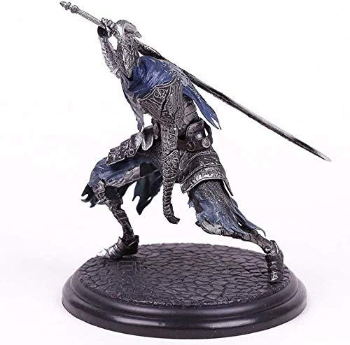 LJXGZY Juegos de Modelos de Anime Estatua de Personaje Dark Souls The Abysswalker Faraam Artorias Juego de Modelos Coleccion Decoracion Modelo Regalo de cumpleanos Estatua 18cm