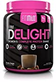 FitMiss Delight Protein Powder, Healthy Nutritional Shake for Women, Whey Protein, Fruits, Vegetables and Digestive Enzymes, Support Weight Loss and Lean Muscle Mass, Chocolate, 1.2 Pound