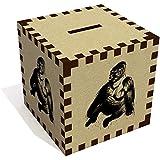 Azeeda 'Sitting Gorilla' Money Box/Piggy Bank (MB00007595)