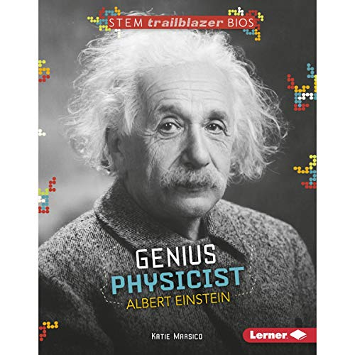 Genius Physicist Albert Einstein cover art
