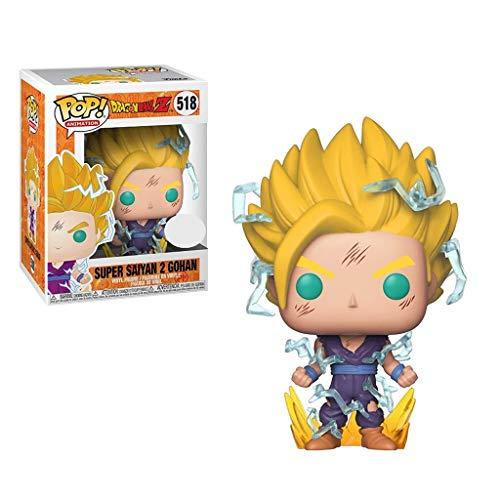 YYBB ¡Popular!Animación: Dragon Ball Z - Super Saiyan 2 Gohan Vinilo Figura Figura Coleccionable Personajes Populares Juguetes, Multicolor 3.9Inch Figurines