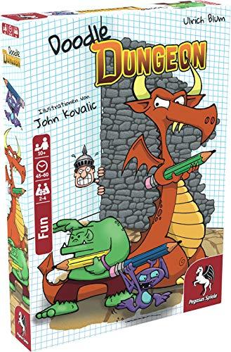 Pegasus Spiele 51846G - Doodle Dungeon (deutsche Ausgabe)