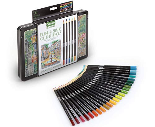 Crayola Adult Colored Pencils 50 Count Now $7.69