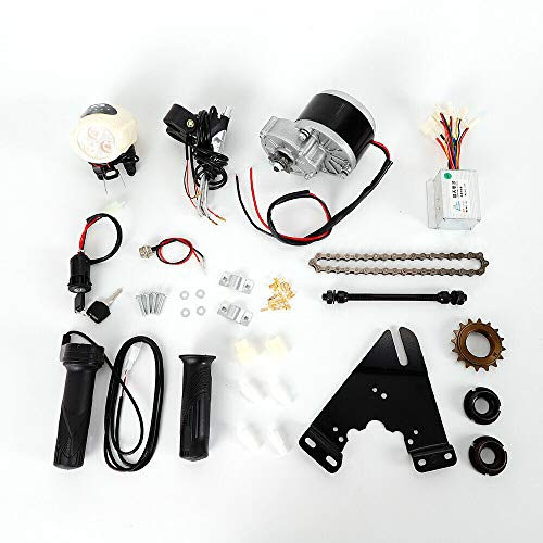 BoTaiDaHong Electric Bike Conversion Kit 3300rpm Rated Speed 16 Flywheel Te-eth Design Electric Bike Conversion Set Fit for 22-29 inch Bike Motor 24V 250W