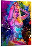 Refosian Nicki Minaj Poster dekorative Malerei Leinwand