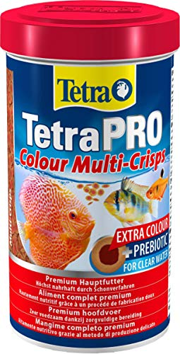 Tetra Pro Colour Multi-Crisps Premiumfutter, 110g/500ml