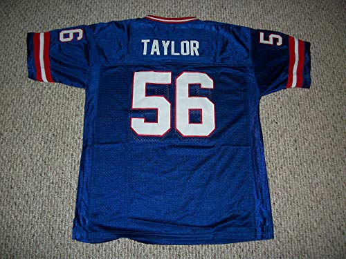 Unsigned Lawrence Taylor #56 New York (LT) Custom Stitched Blue Football Jersey Various Sizes New No Brands/Logos Size Medium