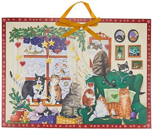 Wand-Adventskalender - Gemütlicher Advent mit Katzen