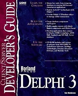 Client/Server Developer's Guide With Delphi 3 (Sams Developer's Guides)