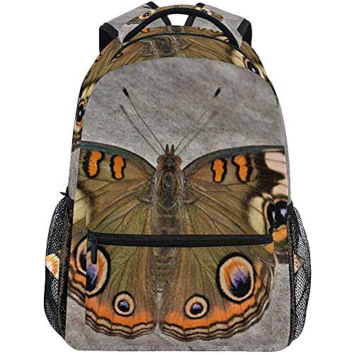 Puzzle Butterfly Wave Mochila Bookbag para Boy Girl Large Travel Laptop Bolsa de Hombro para Mujeres Hombres
