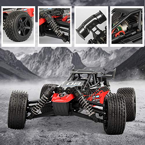 RC Buggy kaufen Buggy Bild 1: Hosim 1:16 Scale 4WD Remote Control RC Truck G171, High Speed Racing Vehicle 36km/h Radio Controlled Off-Road 2.4Ghz RC Car Electronic Monster Hobby Truck R/C RTR Car Buggy for Kids Adults Birthday*