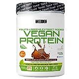 Weider Proteína Vegana, Sabor Brownie Chocolate - 750 g