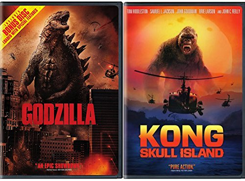 Monster Take Over Collection - Kong: Skull Island VS Godzilla 2-DVD Bundle King Double Feature