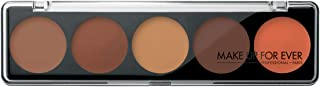 Make Up For Ever 5 Camouflage Eyeshadow Palettes - 10 g, 4 Dark Complexions