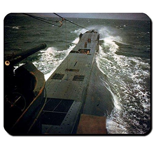 U-Boot Unterseeboot Marine Atlantik Meer WK 2 Foto - Mauspad PC #10222