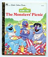 Sesame Street: The Monsters' Picnic (Little Golden Book) 0307001091 Book Cover