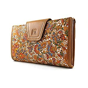 Ccasanova | Damenbrieftasche mit Geldbörse | Große Lederbrieftasche von Ubrique | Brieftasche und Kartenhalter…