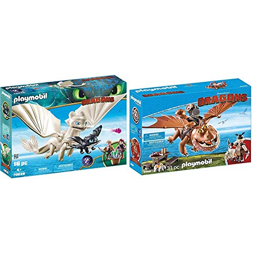 PLAYMOBIL DreamWorks Dragons Furia Diurna y Bebé Dragón co