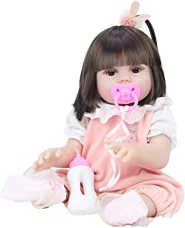 Simulation Doll 53Cm Rebirth Doll Will Drink Water, Pee, Vinyl Baby Doll, Children`s Toy,4
