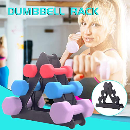 Adjustable Weight Benches with Dumbbell Rack, Home G-ym Multifunctional Workout Station Barbell Bench Weightlifting Bed for Men Women Abs Strength Training Upper Limb Muscle Workout (Dumbbell Rack)