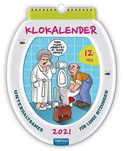 """12 lagig! """"Klokalender"""" 2021: Unterhaltsames für lange Sitzungen (Formkalender)"""