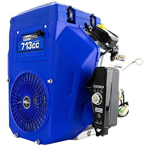 DuroMax XP23HPE 713cc V-Twin Electric Start Gas Powered 50 State Approved, Multi-Use Engine, XP23HPE, Blue