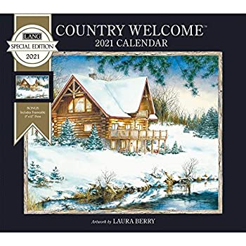 The Lang Companies Country Welcome Special Edition Wall Calendar 2021