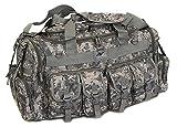 NPUSA Mens Large 30' Inch Gunmetal Grey Duffel Duffle Military Molle Tactical Cargo Gear Shoulder Bag